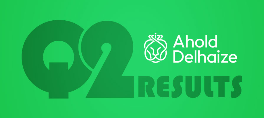 Ahold Delhaize Reports Second Quarter Results, Sees Rise in U.S. Sales