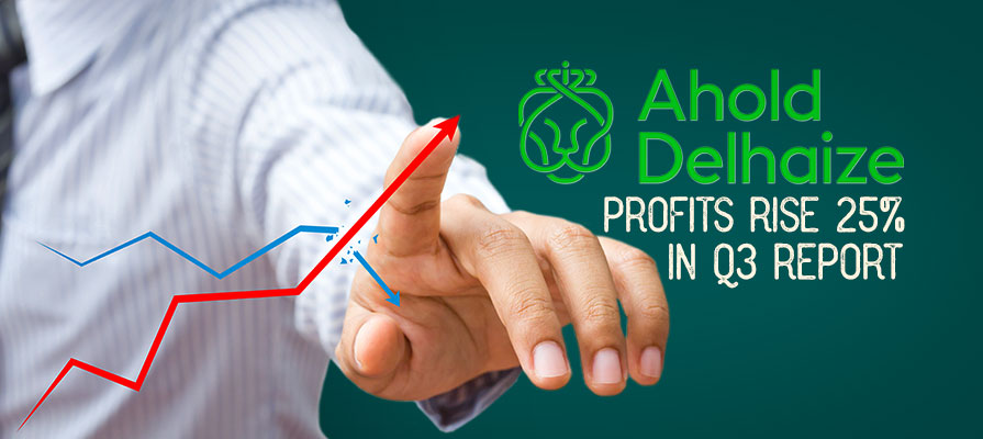 Ahold Delhaize Profits Rise 25% in Q3 Report