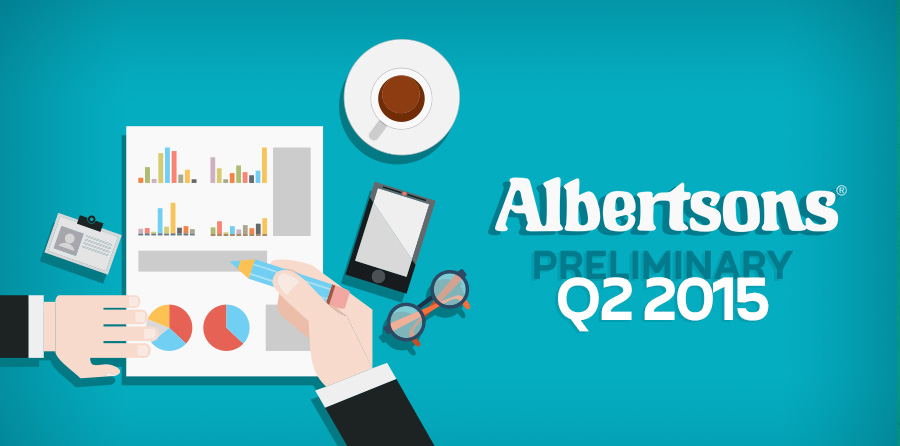Albertsons Releases its Preliminary Q2 2015 Financial Report