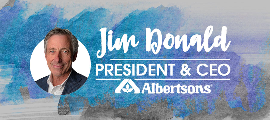 Albertsons Appoints Jim Donald as President and Chief Executive Officer