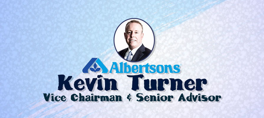 Retail and Tech Veteran Kevin Turner Appointed Albertsons Vice Chairman, Senior Advisor to CEO