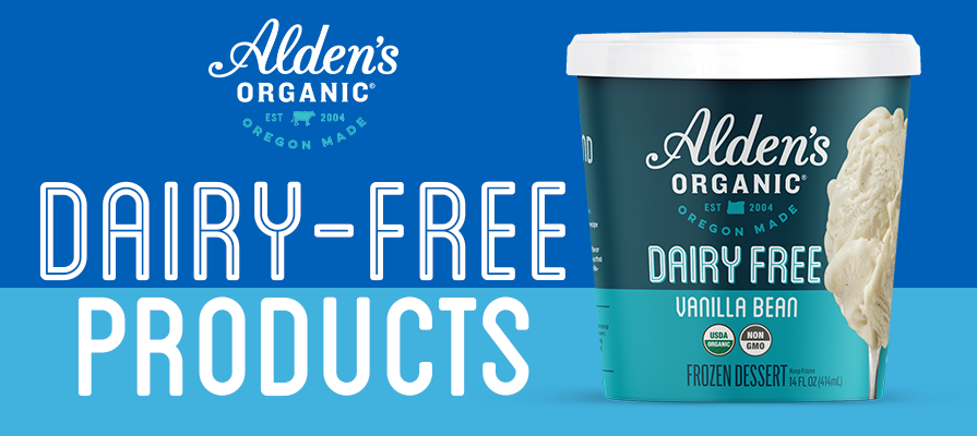 Alden's Organic Launches New Dairy-Free Line