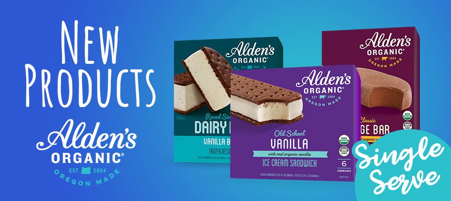 Alden's Organic Debuts Single Serve Novelties