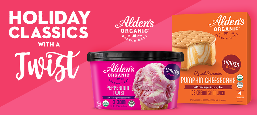 Alden's Organic Launches Limited Edition Holiday Flavors