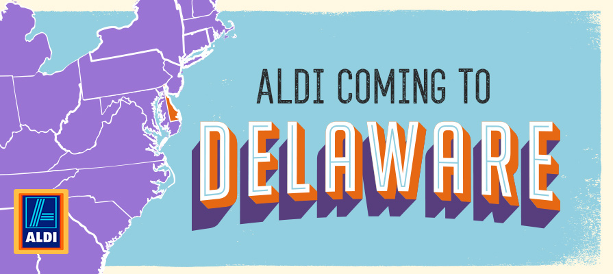 Aldi to Open First Delaware Stores
