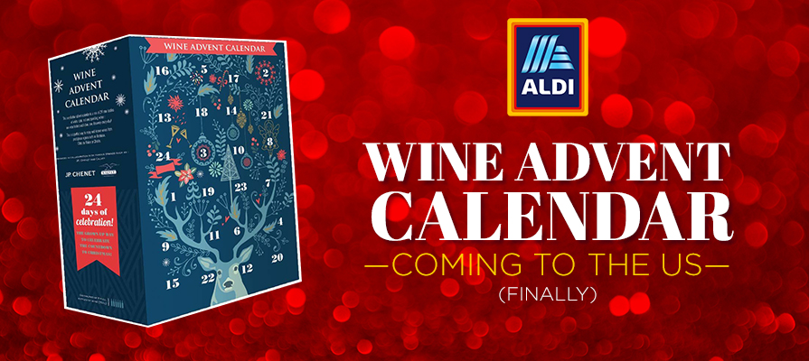 aldi brings advent calendars with cheese and wine to the u. Black Bedroom Furniture Sets. Home Design Ideas