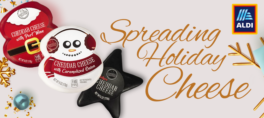 Aldi Celebrates The Holidays With New Cheese Line