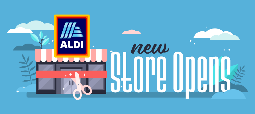 Aldi's New Store Debuts a 40 Percent Larger Fresh Foods Department