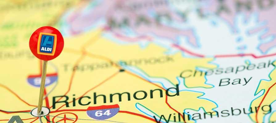 Aldi Expands its Reach in Richmond, Virginia