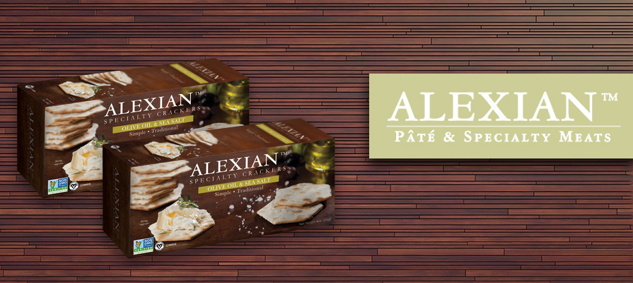 Alexian Introduces All-Natural Specialty Crackers