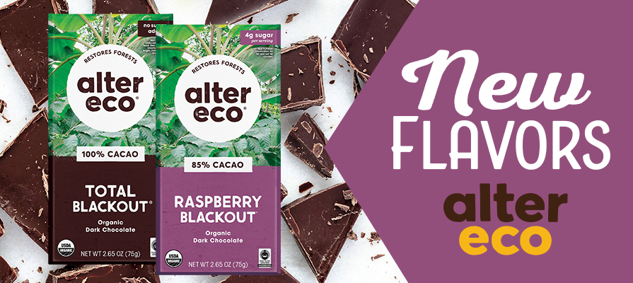 Alter Eco® Expands Blackout Collection With Two New Chocolate Bars