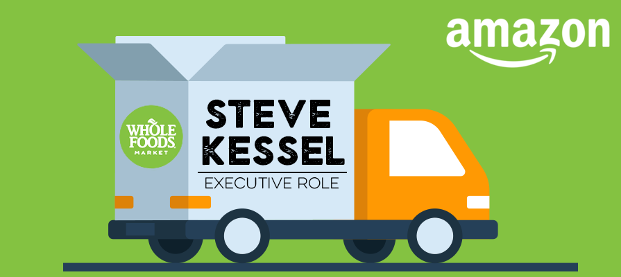 Reports: AmazonFresh, Whole Foods, and More Consolidated Under Veteran Exec Steve Kessel
