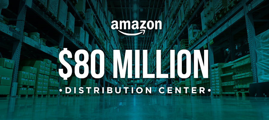 Amazon to Establish An $80 Million Distribution Center