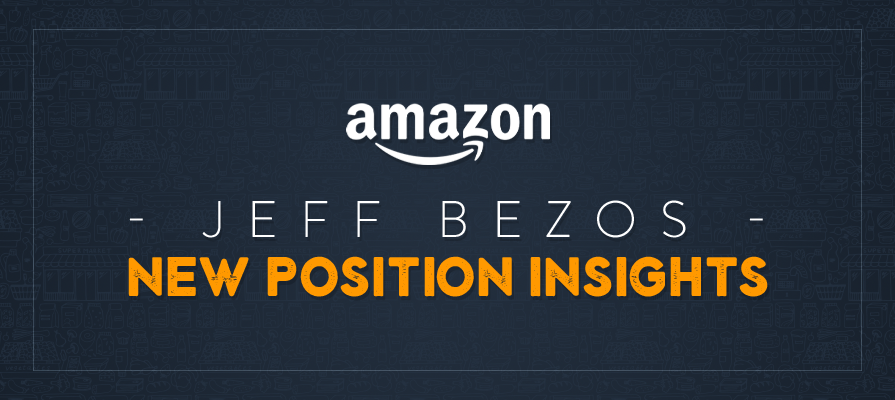 Reports: Amazon's Jeff Bezos to Spearhead Company Strategies, Including Grocery Expansion Plans