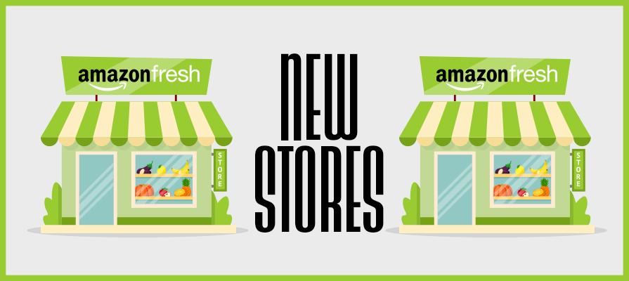 Amazon Unveils Plans to Open Two New Amazon Fresh Grocery Stores in Washington