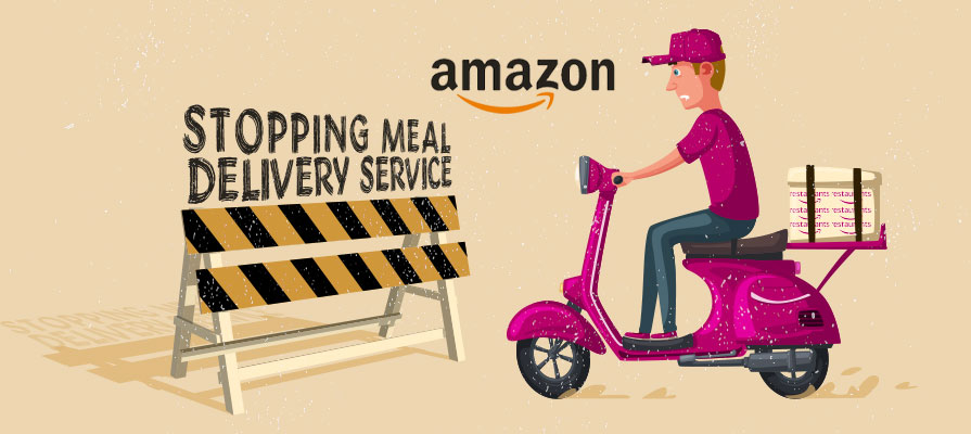 Amazon Ends Restaurant Delivery