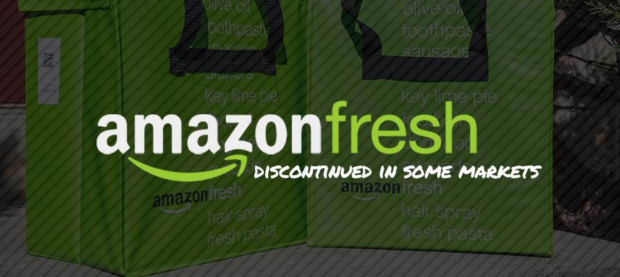 Amazon to End AmazonFresh Service in Many Regions