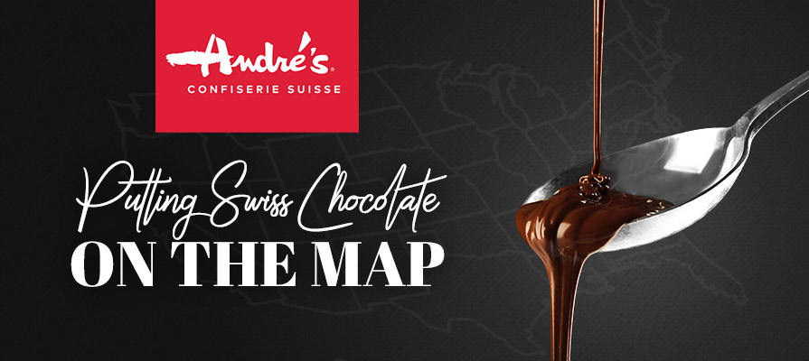 André's Confiserie Suisse Puts Swiss Chocolate on the U.S. Map
