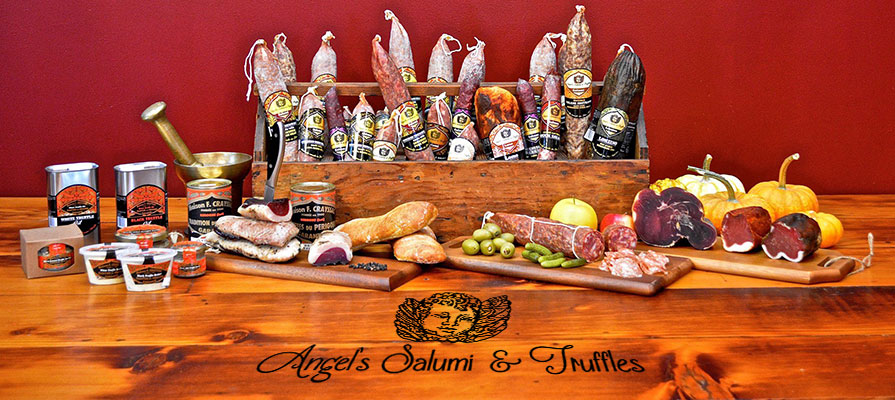 Jillian Collins of Angel's Salumi & Truffles Talks European-Inspired Product Line