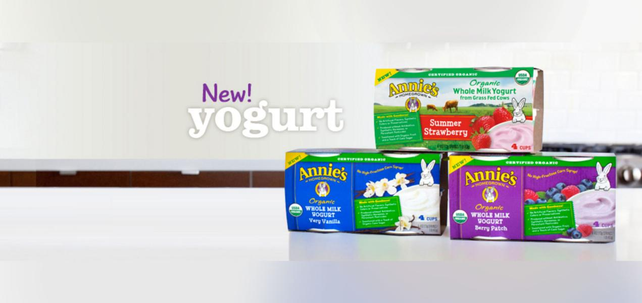 Annie's Meets Another Milestone with New Yogurt for Kids