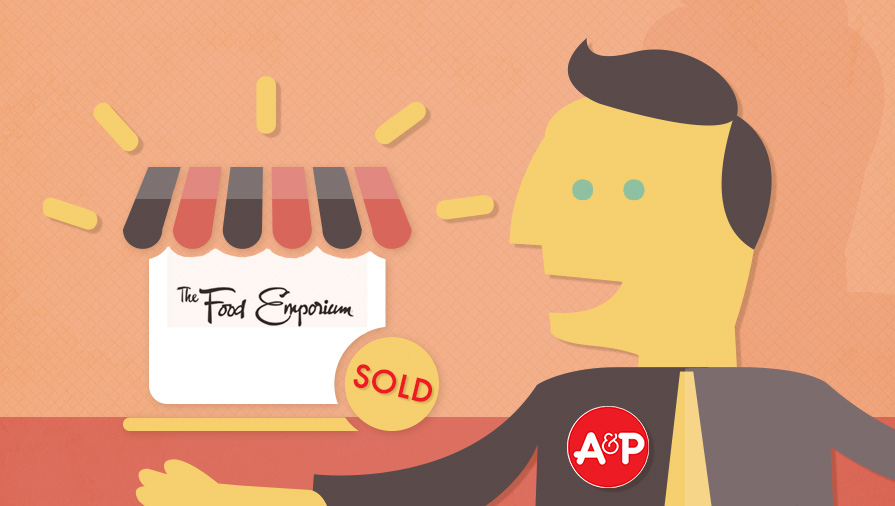 A&P to Sell Food Emporium to Key Food