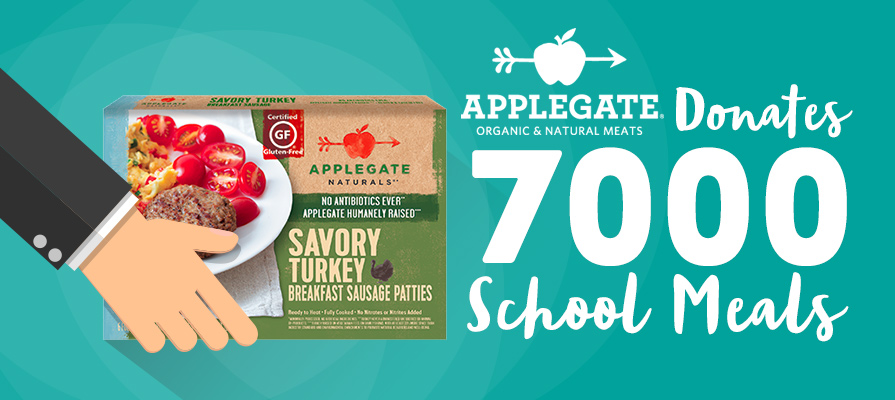 Applegate Partners with Nonprofit to Donate 7,000 Meals to Hungry Children