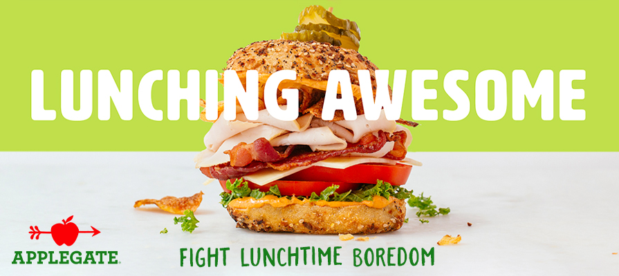 Applegate Battles Lunchtime Boredom With Its  Lunching Awesome  Campaign
