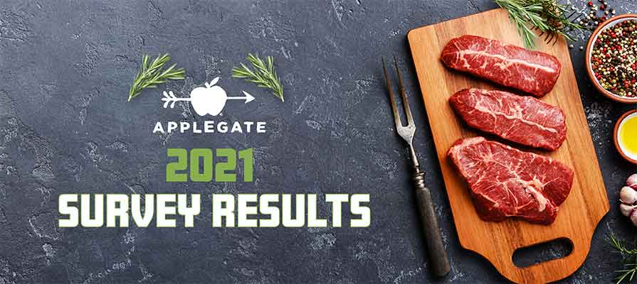 Applegate Survey Finds Meat Will Be a Key Ingredient for Americans Resolving to Eat Better in 2021