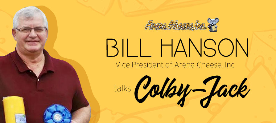 Arena Cheese's Bill Hanson Named Colby-Jack Master Cheesemaker