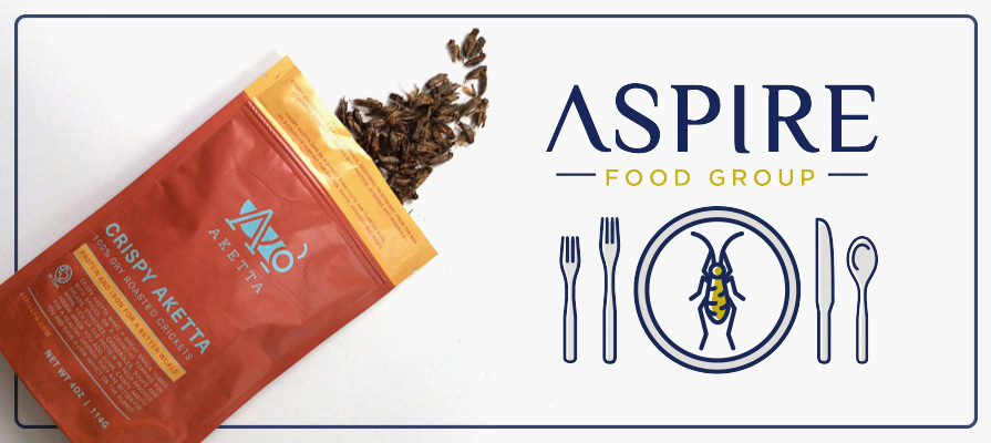 Aspire Food Group Brings Sustainable Insect Protein Products to Growing Market