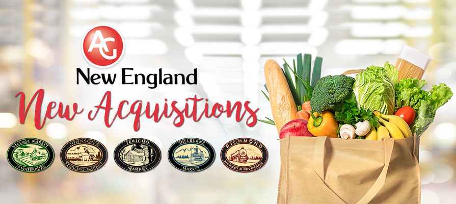 Associated Grocers of New England Inc. Acquires Five Vermont Stores