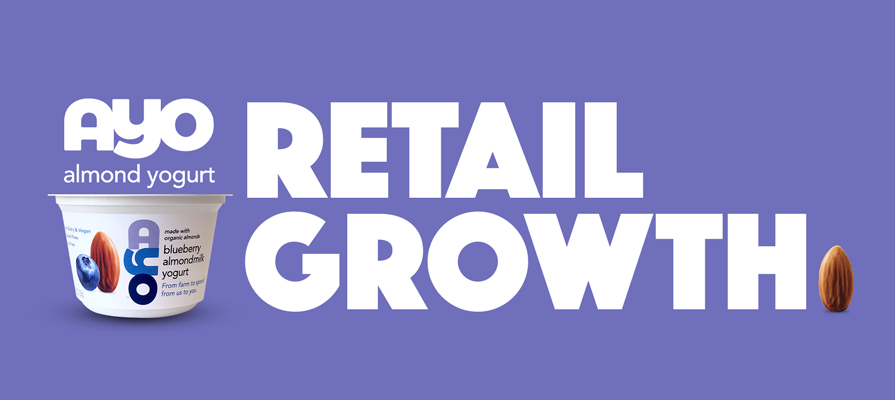 AYO Almondmilk Yogurt Sees 400 Percent Retail Growth; Matt Billings Comments
