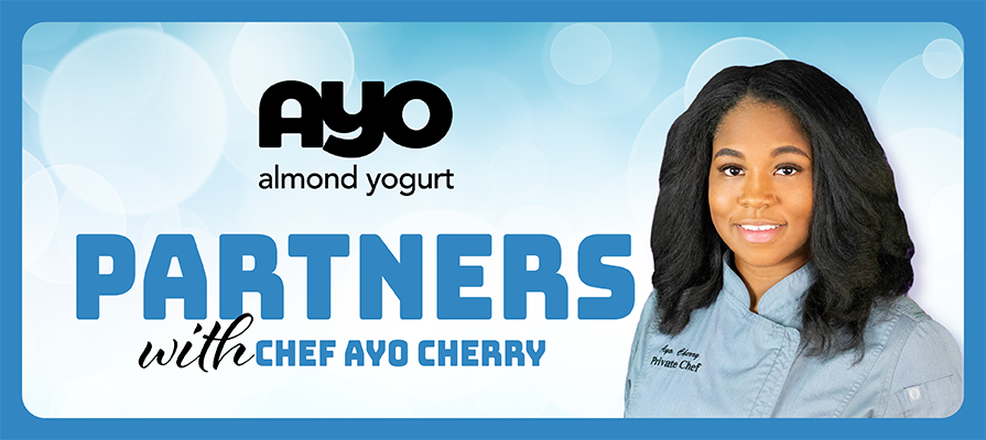 AYO Almondmilk Yogurt Partners with Celebrity Chef Ayo Cherry to Bolster Brand Presence; Matt Billings Comments