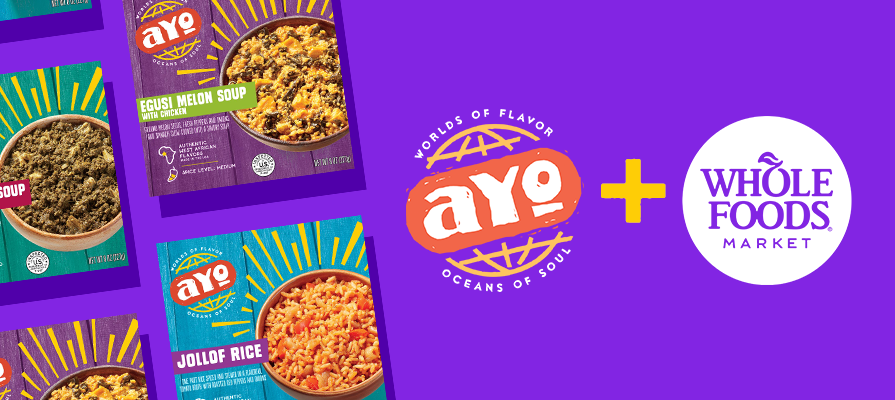 AYO Foods Brings Authentic West-African Cuisine to U.S. Grocers to Spice Up Frozen Foods Category