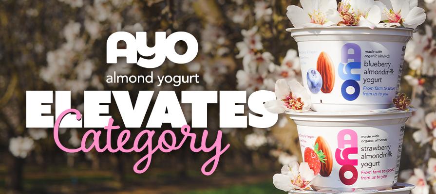 AYO Almondmilk Yogurt Elevates Category