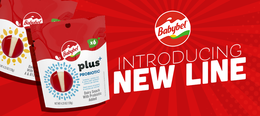 Babybel® Launches the First Range of Functional Snacks in the Category, Babybel Plus+
