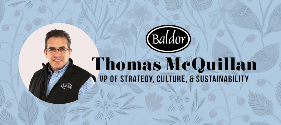 Baldor Specialty Foods Names Thomas McQuillan Vice President of Strategy, Culture, and Sustainability