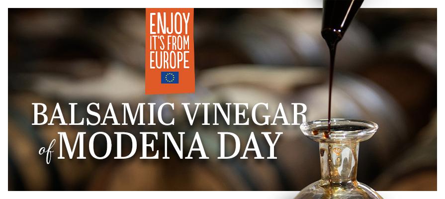 Balsamic Vinegar of Modena Marks Significance With November 1st Balsamic Vinegar of Modena Day