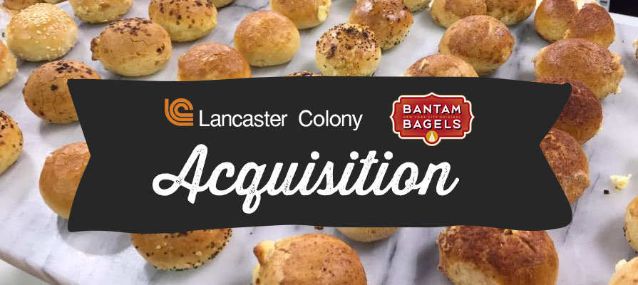 Lancaster Colony Acquires Bantam Bagels for $34 Million