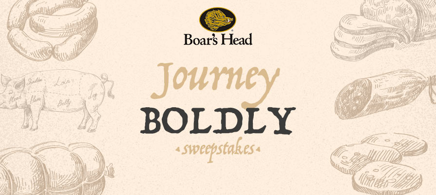 Boar's Head Brand® Announces Journey Boldly Contest for Trip around the World