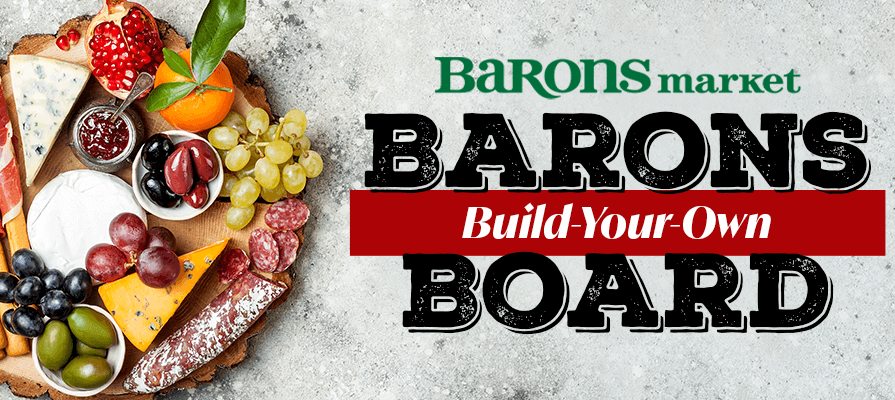 Barons Market Debuts Build-Your-Own-Charcuterie-Board Stations