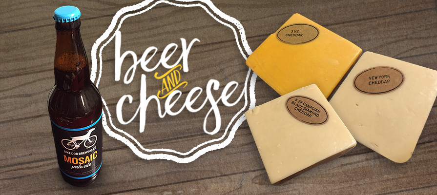 Beer & Cheese Pairings: Aged Cheddar Edition, Featuring Black Diamond, DCI Cheese, and McCadam Cheese