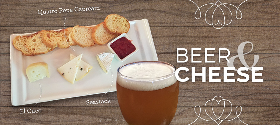 Beer & Cheese Pairings: The Hop Concept's Lemon & Grassy IPA