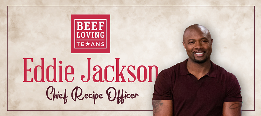 Eddie Jackson Named Chief Recipe Officer for Beef Loving Texans