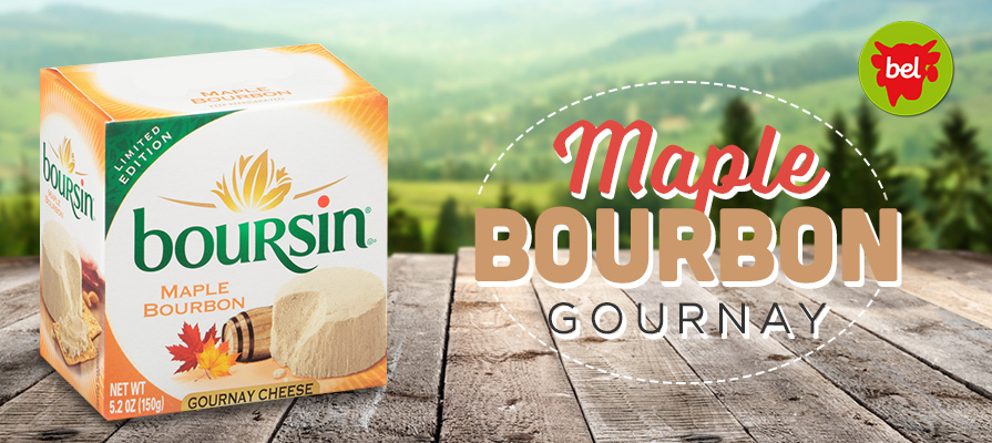 Boursin® Gournay Cheese Welcomes New Fall Flavor: Maple Bourbon