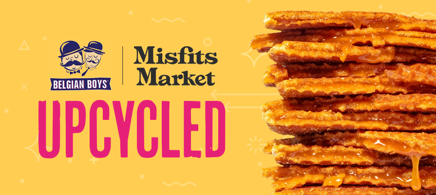 Belgian Boys Teams Up With Misfits Market to Debut Upcycled Stroopwafel; Anouck Gatlib and Greg Galel Comment