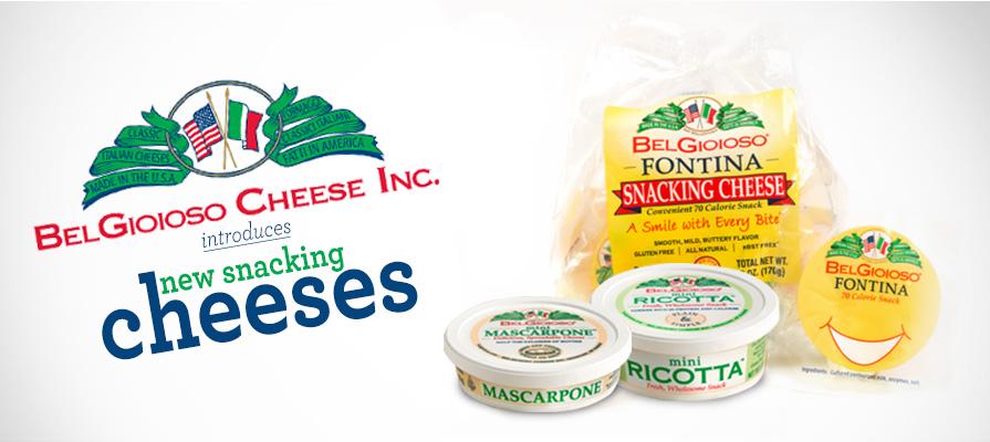 BelGioioso Unveils New Snacking Fontina, Mini Mascarpone, and Mini Ricotta