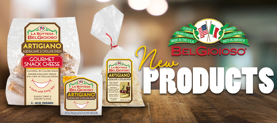 BelGioioso Cheese Introduces New Artigiano® Gourmet Snacks and Crumbles