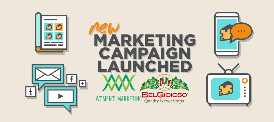BelGioioso Cheese Inc. Unveils New Marketing Campaign