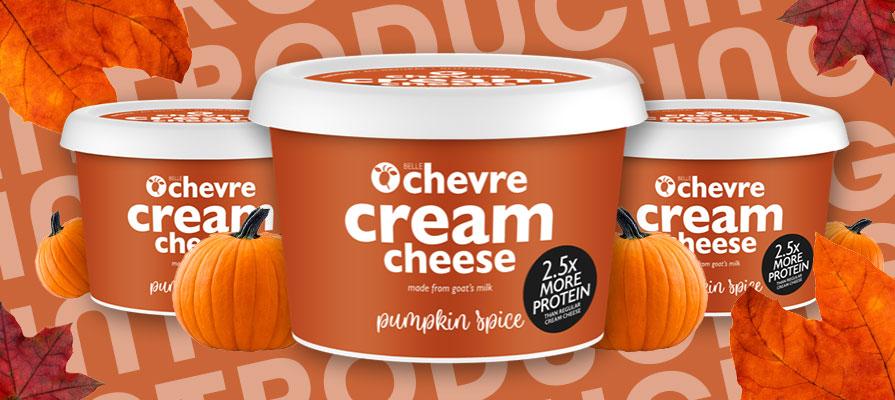 Belle Chevre Debuts Pumpkin Spice Cream Cheese